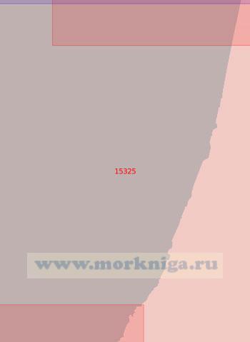 15325 От светящего знака Юнъяха до светящего знака Седа (Масштаб 1:50 000)