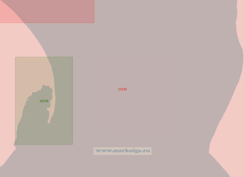 15335 Обская губа. От острова Снеговой Яр до бухты Каменная (Масштаб 1: 50 000)