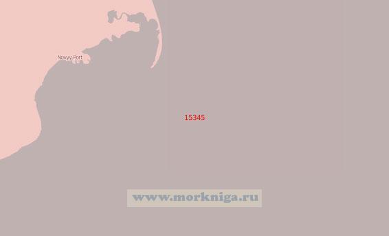 15345 Бухта Новый Порт с подходами (Масштаб 1:50 000)