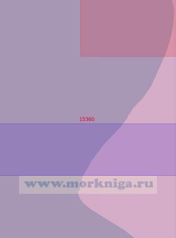 15360 Подходы к мысу Хонарасаля (Масштаб 1:50 000)