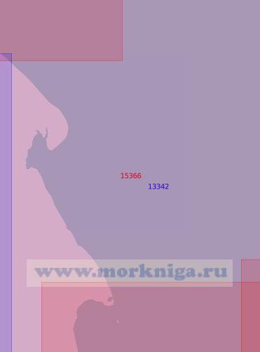 15366 От мыса Северная Карга до мыса Песчаный (Масштаб 1:50 000)