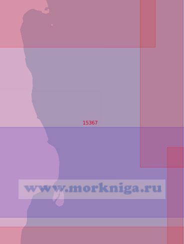 15367 От мыса Песчаный до островов Песцовые (Масштаб 1:50 000)