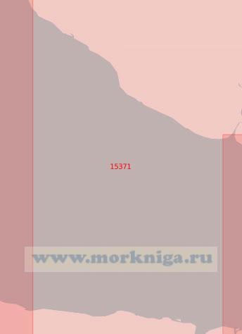 15371 От мыса Кривой до устья реки Юрибей (Масштаб 1:50 000)