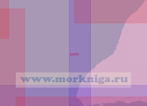 15375 Подходы к острову Олений с запада (Масштаб 1:50 000)