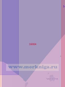 16004 От острова Кумбыш до мыса Толстик (Масштаб 1:50 000)