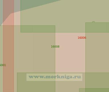 16008 Мурманский рукав реки Северная Двина (Масштаб 1:25 000)