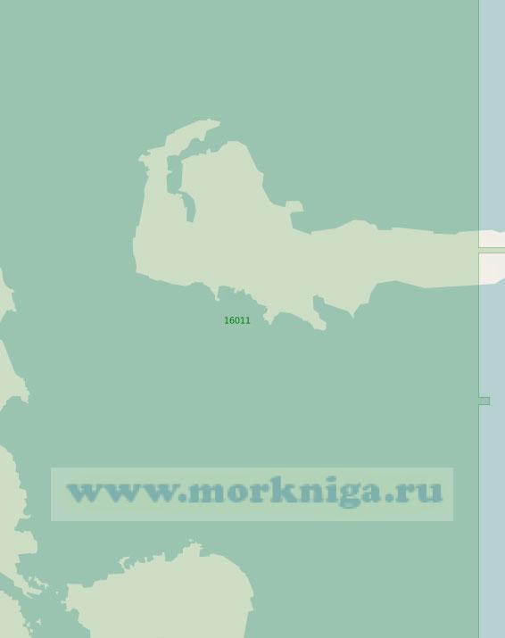 16011 Пролив Анзерская Салма (Масштаб 1:25 000)