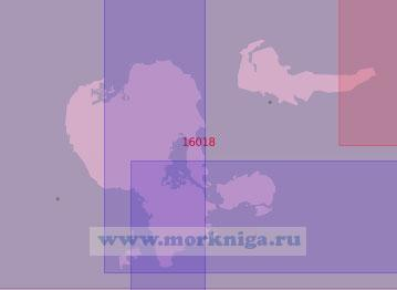 16018 Соловецкие острова (Масштаб 1:50 000)