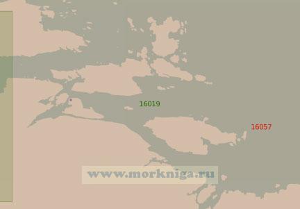 16019 Подходы к губам Чупа и Кереть (Масштаб 1:25 000)