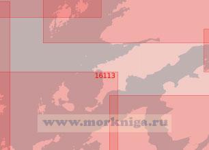 16113 От острова Хусёй до острова Сёре-Лекса с фьордом Стьёрна-фьорд (Масштаб 1:50 000)