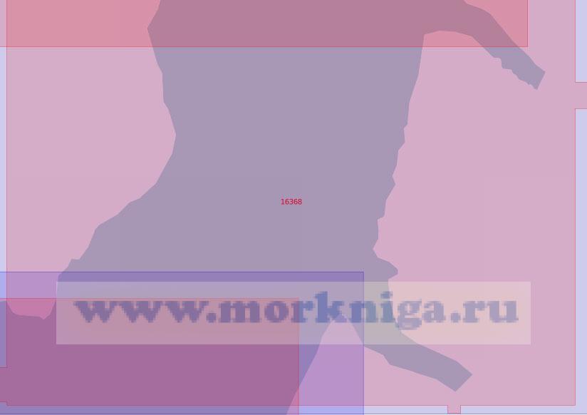 16368 Пролив Шокальского. От островов Бурунные до фьорда Спартак (Масштаб 1: 50 000)