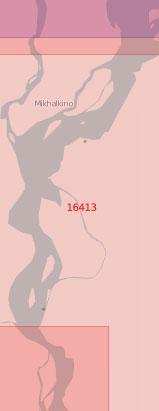 16413 Протока Каменная от острова ГУСМП до мыса Колымская Стрелка (Масштаб 1:50 000)