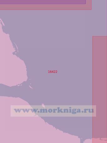16422 Подходы к Колымской губе (Масштаб 1:50 000)