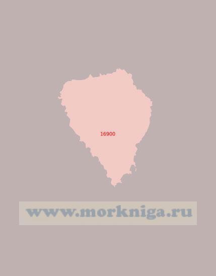 16900 Остров Медвежий (Бьёрнёйа) (Масштаб 1:50 000)