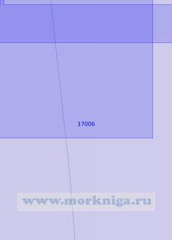 17006 От створа Три Ручья до банки Молочная Корга (Масштаб 1:5 000)