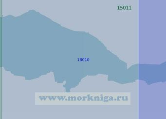 18010 Западная часть Кильдинского пролива (Масштаб 1:10 000)