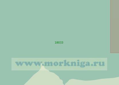 18033 Подходы к мысу Синькин Нос и устью реки Талата (Масштаб 1:25 000)