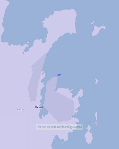 18144 Порт Харстад (Масштаб 1:10 000)