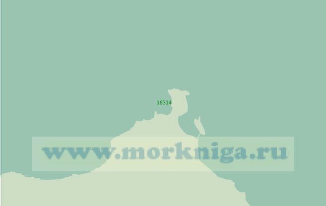 18314 Подходы к полярной станции Мыс Болванский Нос (Масштаб 1:25 000)