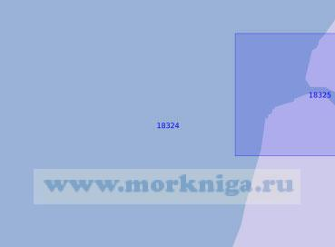 18324 Подходы к мысу Харасавэй (Масштаб 1:10 000)