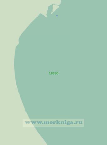 18330 Бухта Тамбей с подходами (Масштаб 1:25 000)