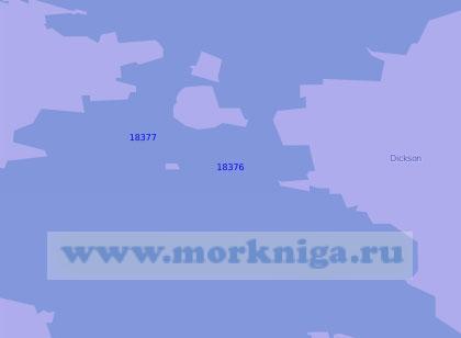 18377 Порт Диксон с подходами (Масштаб 1:10 000)