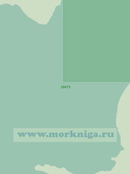 18473 Вход в губу Ванькина (Масштаб 1:25 000)