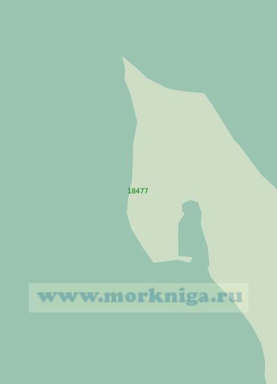 18477 Северная оконечность острова Столбовой (Масштаб 1:25 000)