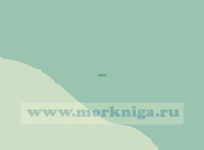 19006 От мыса Лопшеньгский до мыса Яш-Наволок (Лопшеньгская мерная линия (Масштаб 1:25 000)