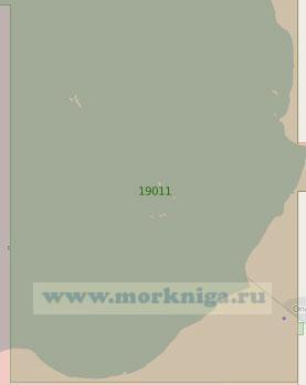 19011 Подходы к порту Онега (Масштаб 1:25 000)