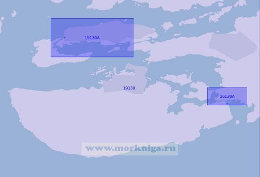19130 Порт Олесунн (Масштаб 1:10 000)