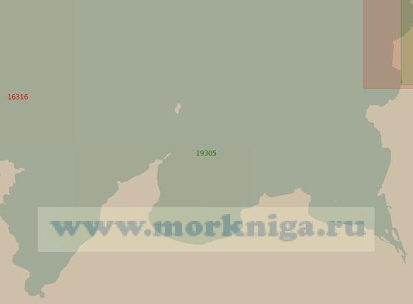 19305 Бухты Слюдяная, Эклипс, Ломоносова (Масштаб 1:25 000)