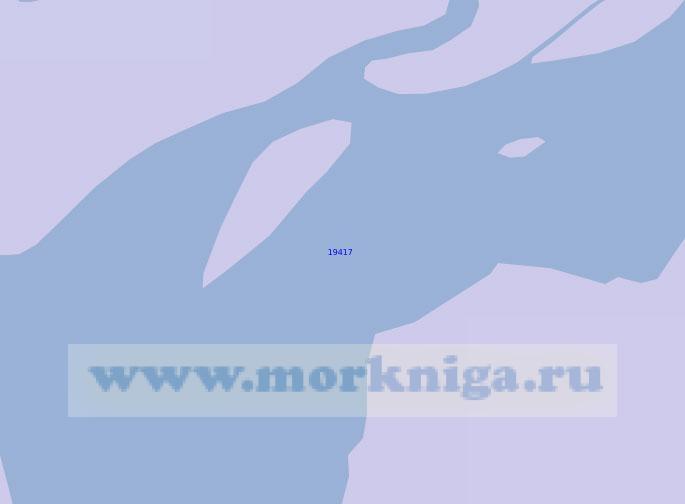 19417 Острова Аспидный и Пароходный (Масштаб 1:10 000)