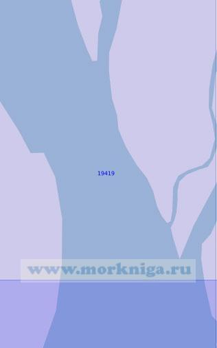 19419 Протока Поперечная (Масштаб 1:10 000)