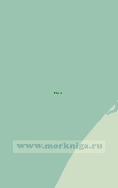 19434 Подходы к полярной станции Айон (Масштаб 1:25 000)