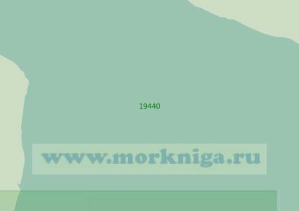 19440 Подходы к проливу Малый Чаунский (Масштаб 1:25 000)