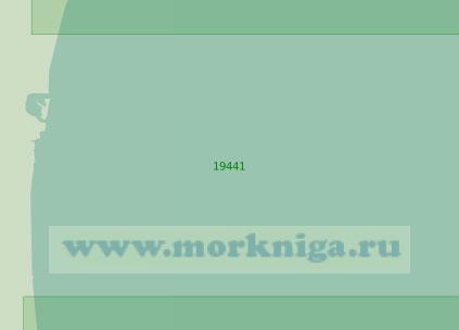 19441 Подходы к устью реки Раквазан (Масштаб 1:25 000)
