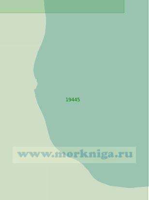 19445 От реки Тэюкууль до перевалочной базы Кремянка (Масштаб 1:25 000)