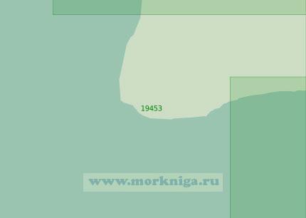 19453 Подходы к селению Валькумей (Масштаб 1:25 000)