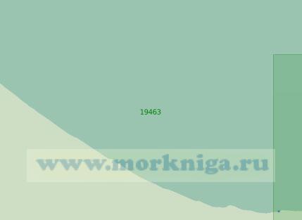 19463 От лагуны Пильгыкэй до лагуны Рыпильгын (Масштаб 1:25 000)