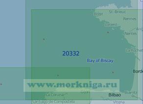 20332 Бискайский залив (Масштаб 1:1 000 000)