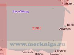 21013 От острова Олерон до порта Хихон (Масштаб 1:500 000)