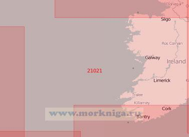 21021 От залива Донегол до порта Корк (Масштаб 1:500 000)