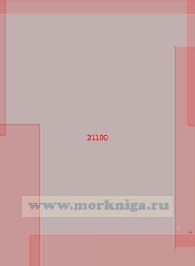 21100 От Скалы Роколл до Фере-Банке (Масштаб 1:500 000)
