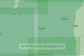 22057-INT1217 От Павилосты до Клайпеды (Масштаб 1:250 000)