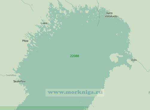 22088 Северная часть Ботнического залива (Масштаб 1:300 000)