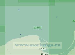 22100 От мыса Таран до порта Устка (Масштаб 1:200 000)