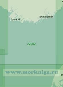 22202 Западная часть пролива Скагеррак (Масштаб 1:200 000)