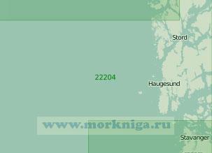 22204 От острова Фейстейн до острова Слоттерёй (Масштаб 1:200 000)
