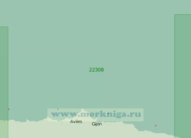 22308 От маяка Льянес до бухты Навия (Масштаб 1:200 000)